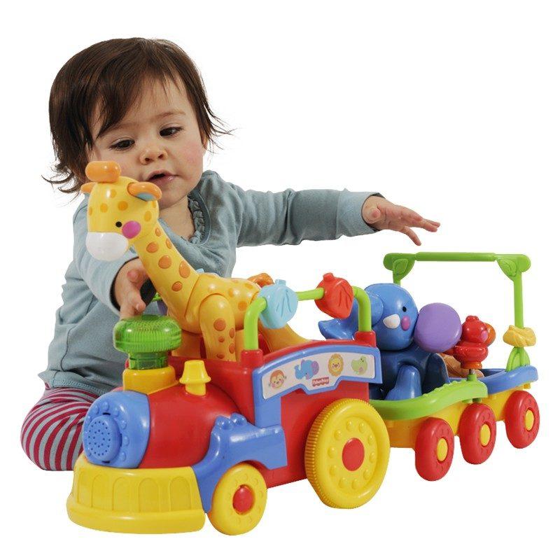 паровозик для малышей