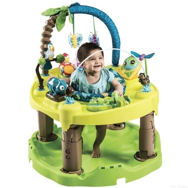 центр-прыгунки evenflo джунгли
