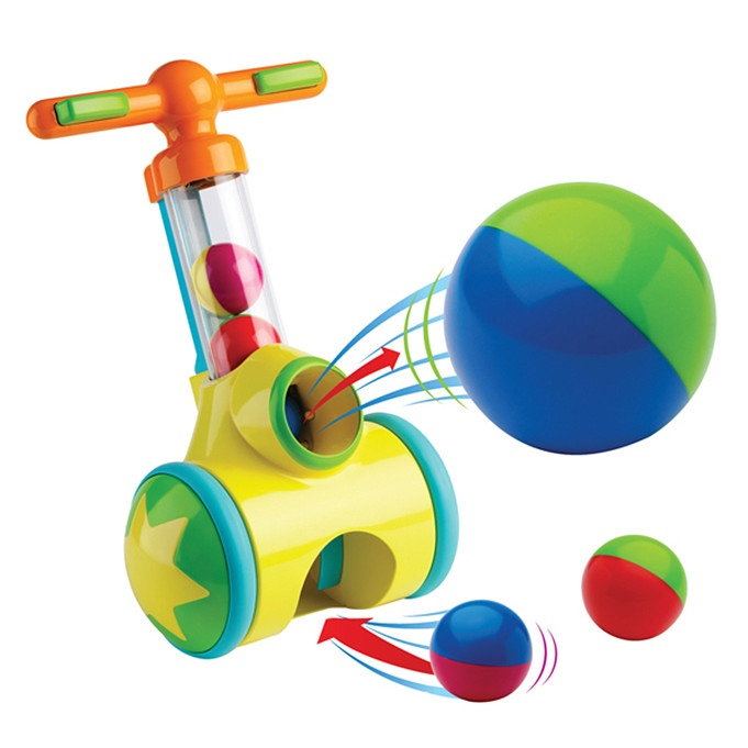 катапульта tomy с шариками