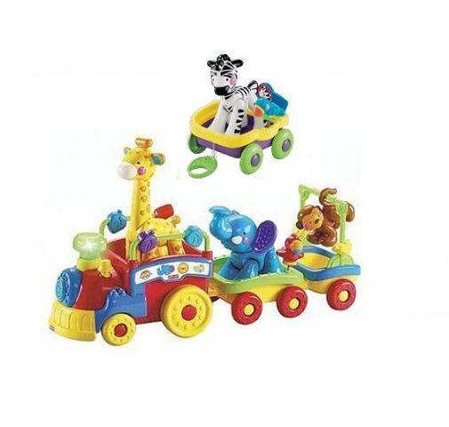 паровозик с вагоном