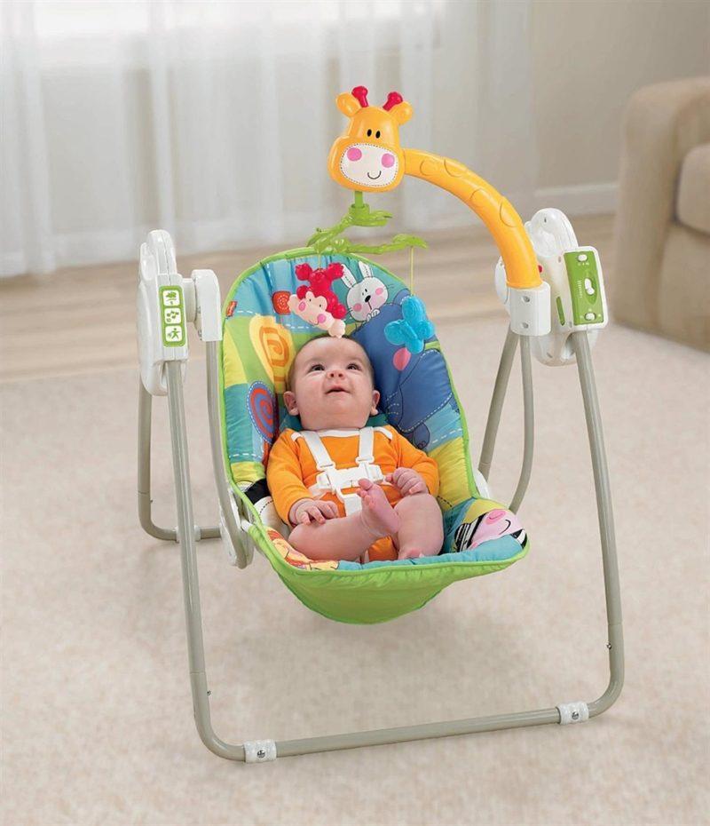 Качели для малышей с рождения